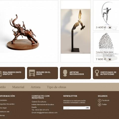 galeria esculturas